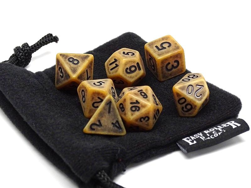 Ancient Earth Dice Collection - 7 Piece Set