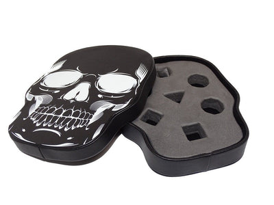 Skull Dice Display Box | Black