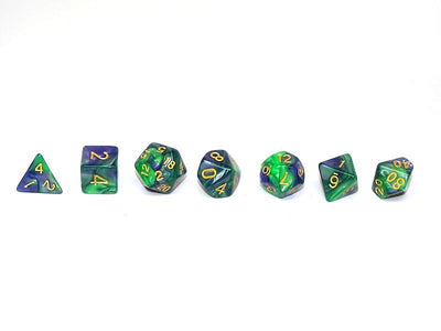 Wild Forest Dice Collection - 7 Piece Set