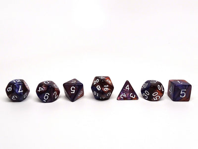 Royal Granite - 7 Piece Dice Collection
