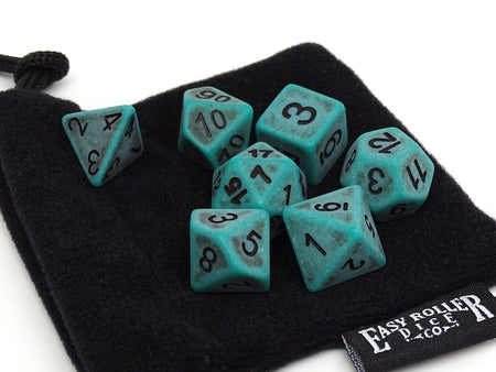 Ancient Moss Dice Collection - 7 Piece Set