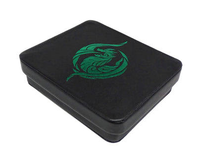 Dice Display and Storage Case - Green Dragon's Breath Design