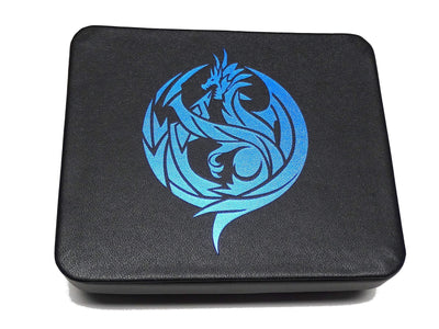 Dice Display and Storage Case - Blue Dragon Design