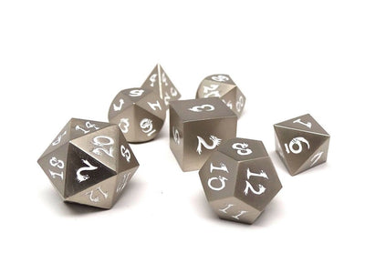 antique silver dice