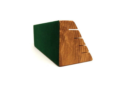 2 Pack of Wooden Playing Card Holders - Holds up to 28 Cards