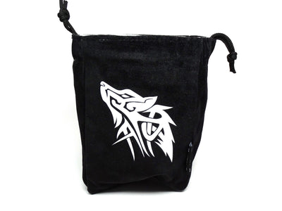 Wolf Reversible Microfiber Self-Standing Large Dice Bag