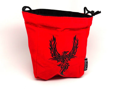 Phoenix Reversible Microfiber Self-Standing Large Dice Bag