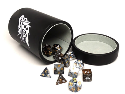 Over Sized Dice Cup - Wolf Design