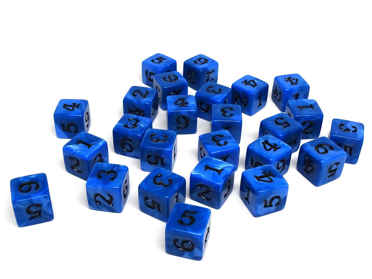 Army Dice Set #1 - 25 Count D6 Collection
