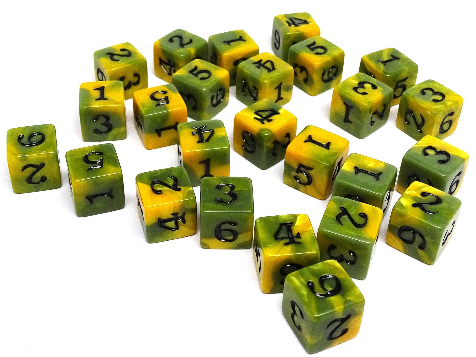 Army Dice Set #4 - 25 Count D6 Collection