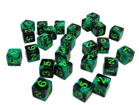 Army Dice Set #2 - 25 Count D6 Collection