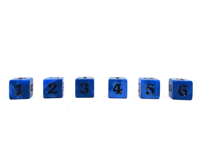 10 Pack Army D6 Dice Set #1 - 10 Count D6 Collection