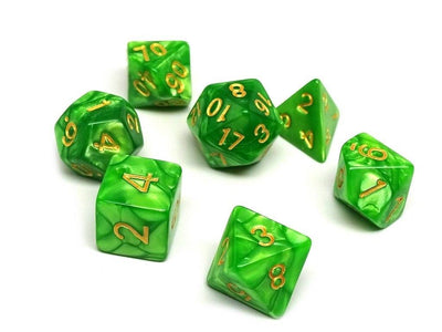 Celtic Swirl - 7 Piece Dice Collection