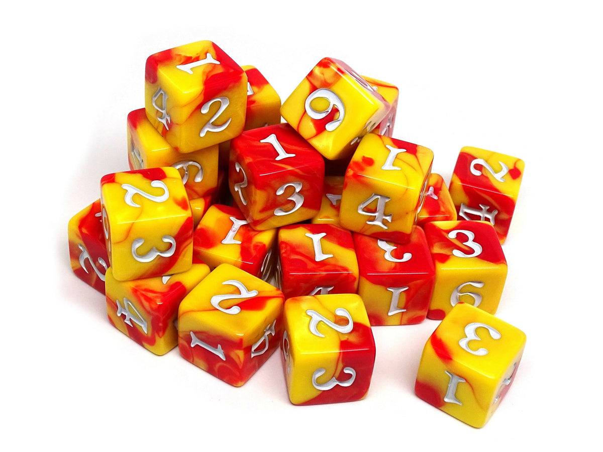 Army Dice Set #8 - 25 Count D6 Collection
