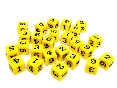 Army Dice Set #10 - 25 Count D6 Collection