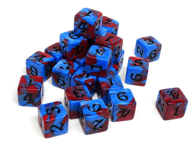 Army Dice Set #15 - 25 Count D6 Collection