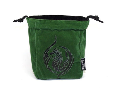 Dragon's Breath Reversible Microfiber Self-Standing Large Dice Bag