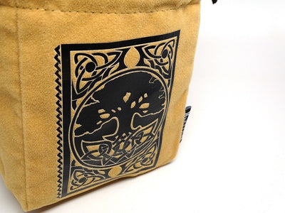 Spell Book Reversible Microfiber Self-Standing Large Dice Bag