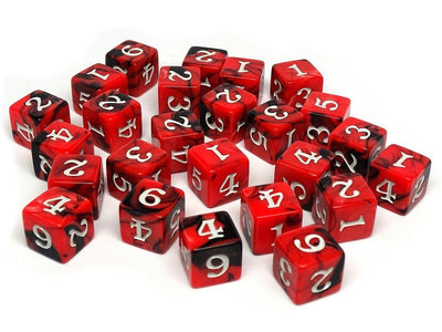 Army Dice Set #11 - 25 Count D6 Collection