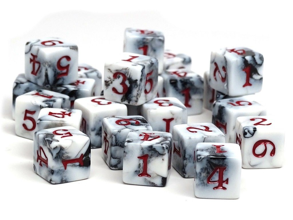 Army Dice Set #12 - 25 Count D6 Collection