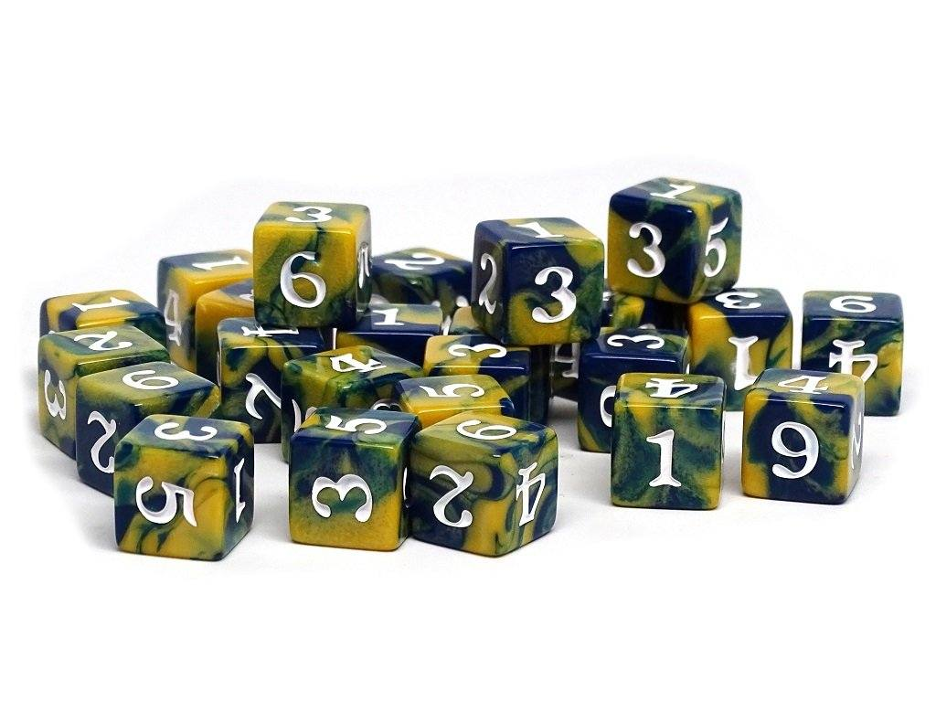 Army Dice Set #17 - 25 Count D6 Collection