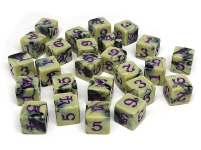 Army Dice Set #13 - 25 Count D6 Collection