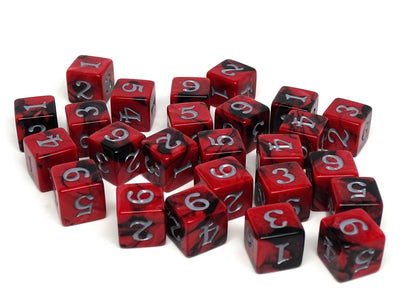 Army Dice Set #19 - 25 Count D6 Collection