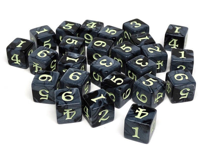 Army Dice Set #14 - 25 Count D6 Collection