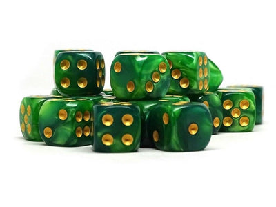 12mm D6 Dice - Celtic Swirl - 25 Count Bag
