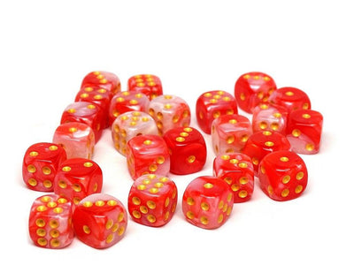 12mm D6 Dice - Himalayan Pink - 25 Count Bag