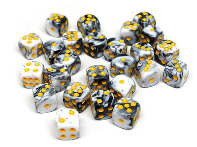 12mm D6 Dice - Oracle Design - 25 Count Bag