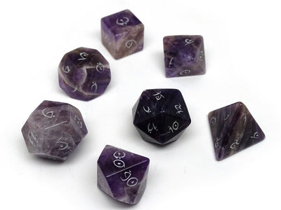 Stone Dice Collection - Amethyst - Elvenkind Font