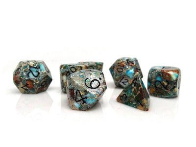 Wizard Stone Dice - Earth Elemental