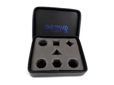Dice Display and Storage Case - Blue Dagger Design