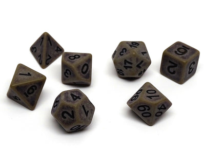 Ancient Ground Dice Collection - 7 Piece Set