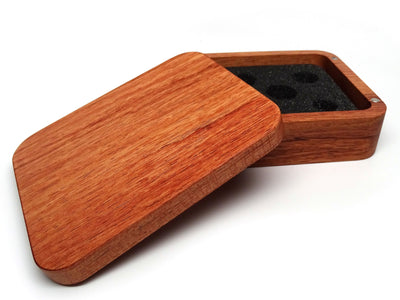 Rosewood Dice Case - Plain Design
