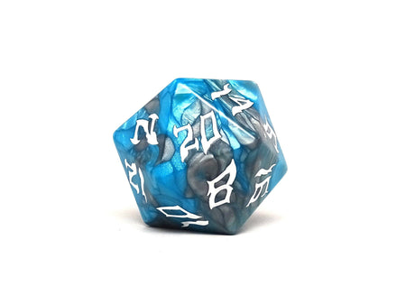 48mm Dice of the Giants - Frost Giant D20