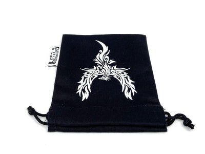 Small Cotton Twill Dice Bag - Phoenix Design