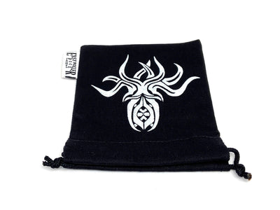 Small Cotton Twill Dice Bag - Cthulhu Design