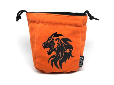 Lion Reversible Microfiber Self-Standing Large Dice Bag
