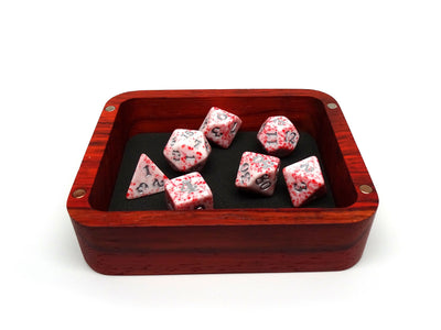 Padauk Wood Dice Case - Cthulhu Design