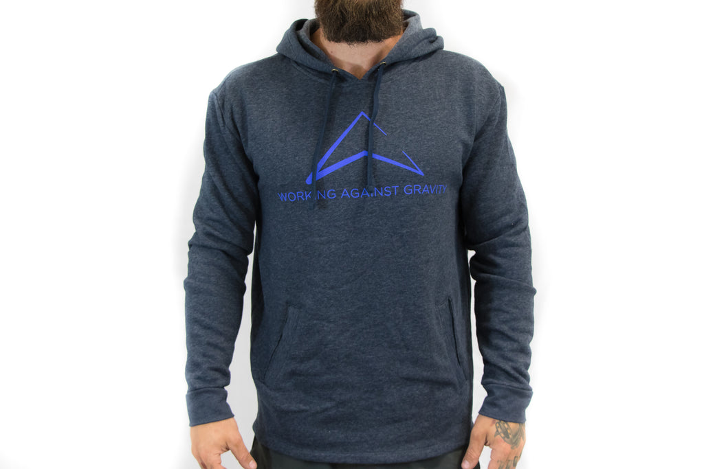 sWAG Pullover Hoodie in Heather Blue