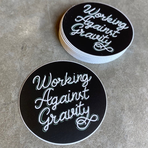Round WAG Sticker