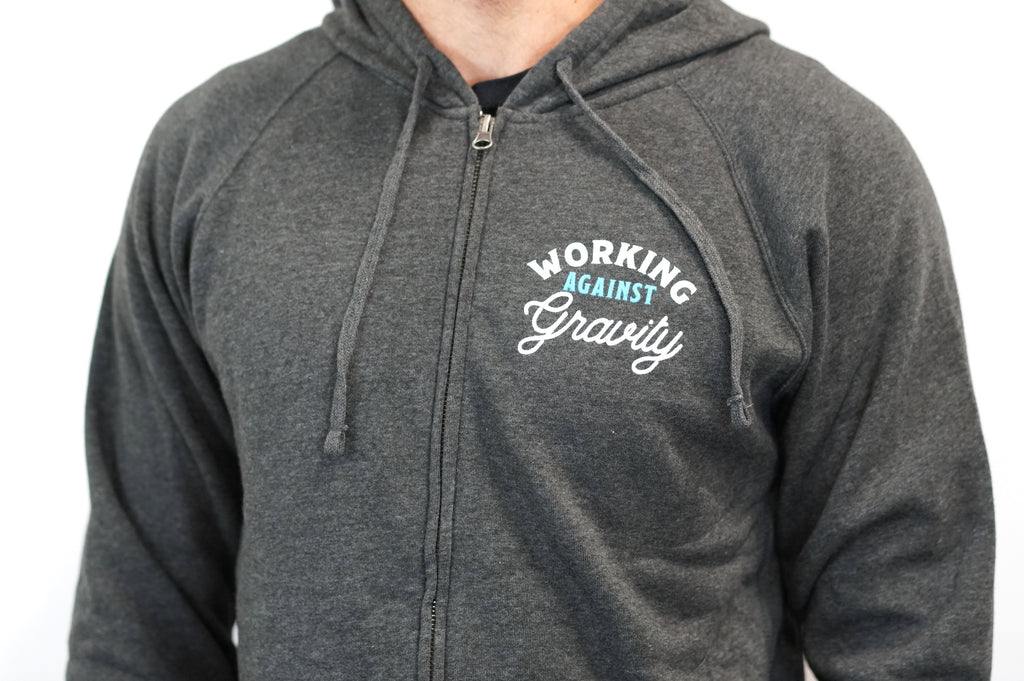 Victory Hoodie in Charcoal