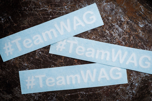#TeamWAG sticker