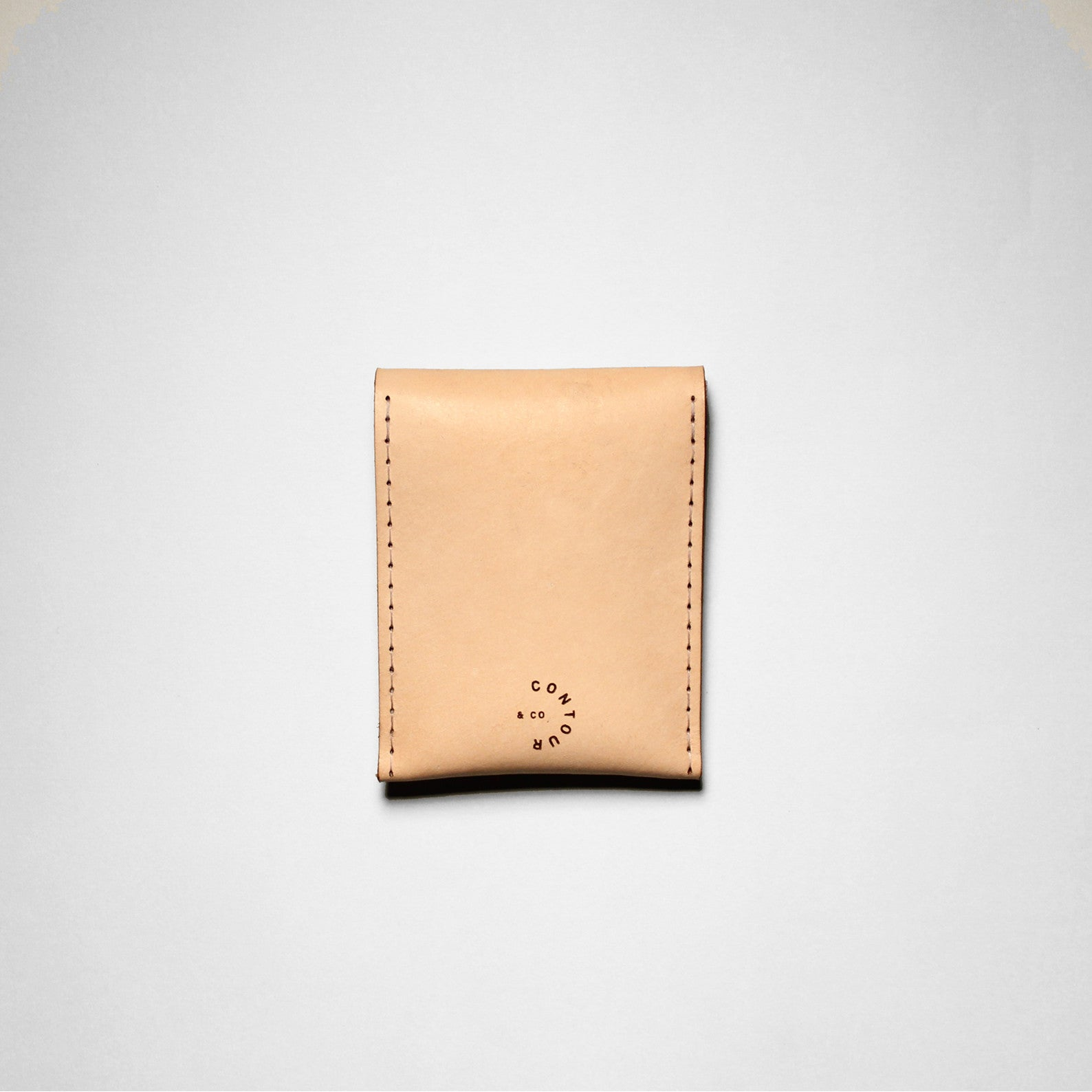 DOUBLE SNAP WALLET VEGGIE TAN