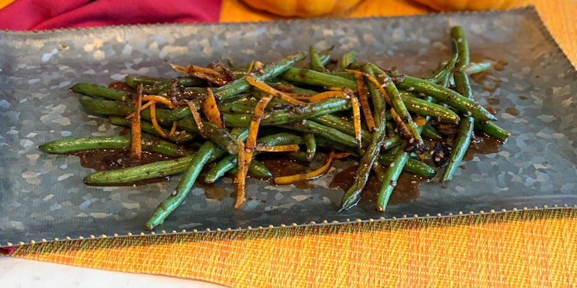 Lighten Up Your Thanksgiving Feast with a Delicious Eastern Inspired Green Bean Recipe