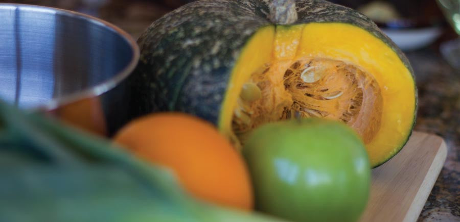 A Simple Winter Squash Soup for Flu Season
