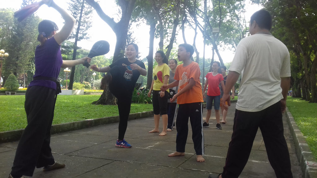 Fighting to Relax: Tai Chi, Practiced Family Style, in Vietnam