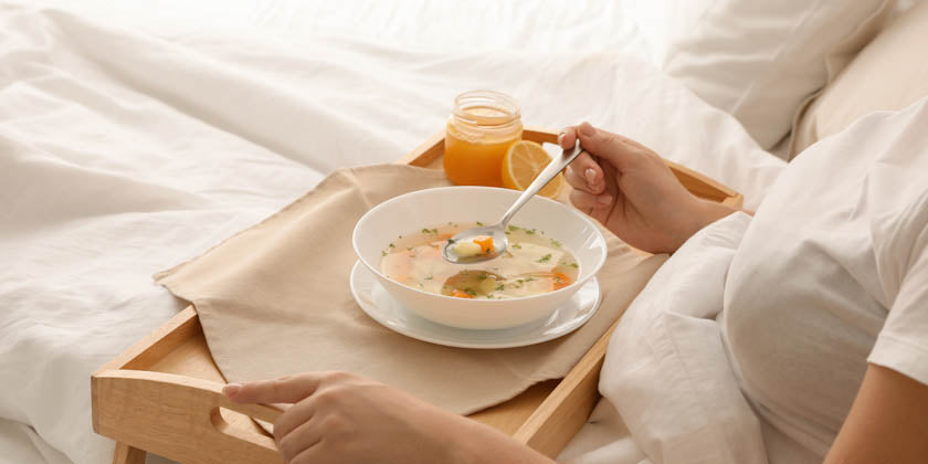 Why Is Chicken Soup Good for a Cold?